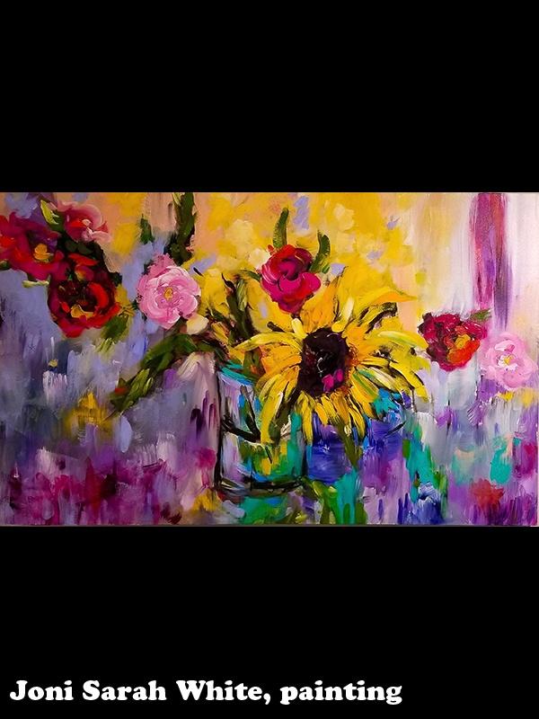 Joni Sarah White, painting