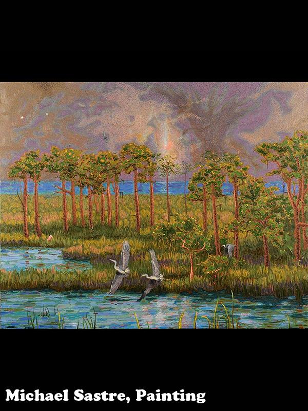 Michael Sastre, painting