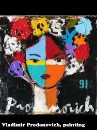 Vladimir Prodanovich, painting