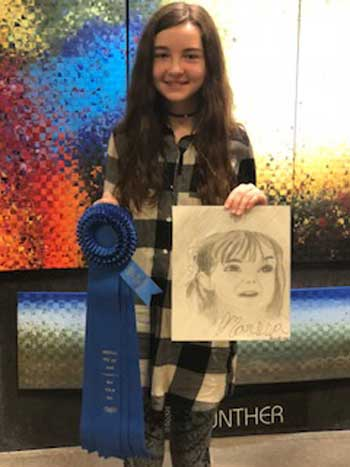Savannah Cody, Drawing, Age 12, Rainbow Community School