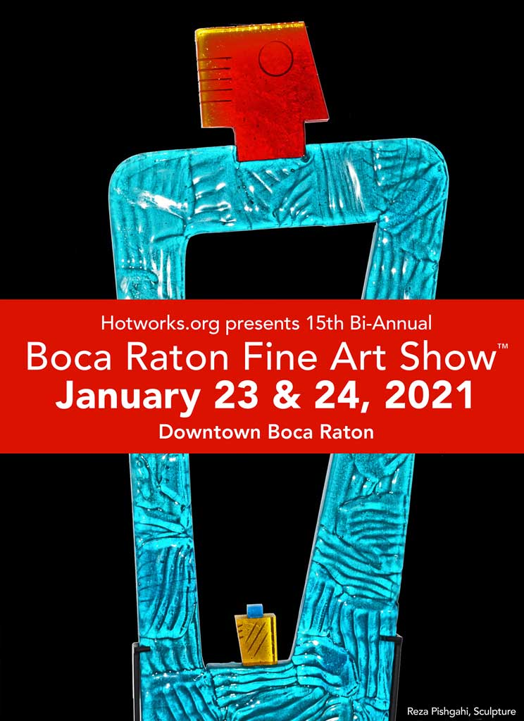 Boca Raton Fine Art Show - January 2021