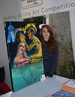 Kirsten Kelly Painting Age 16.
