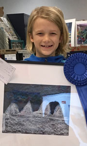 Cameron Leger, Drawing, Age 9, Gulf Elementary