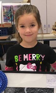 Mikayla Kidder, Drawing, Age 6, Gulf Elementary