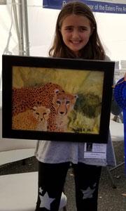 Sophia Rice, Painting, Age 10, Rayma C. Paige Elementary