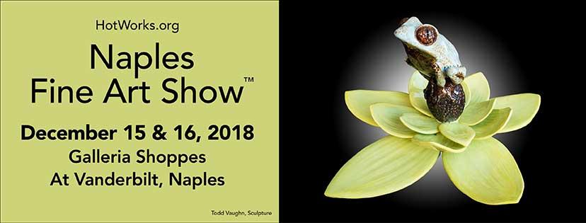 Naples Fine Art show December 15th and 16th 2018 @ Galleria Shoppes Vanderbilt, Naples