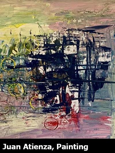 Juan Atienza, Painting