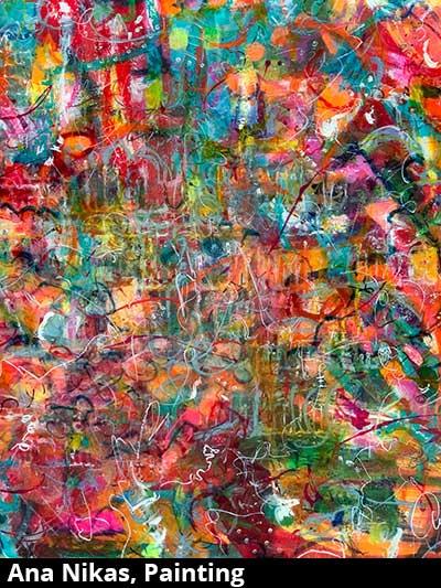 Ana Nikas, Painting