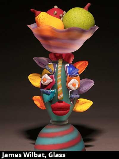 James Wilbat, Glass