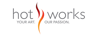 Hot Works Fine Art Shows Logo